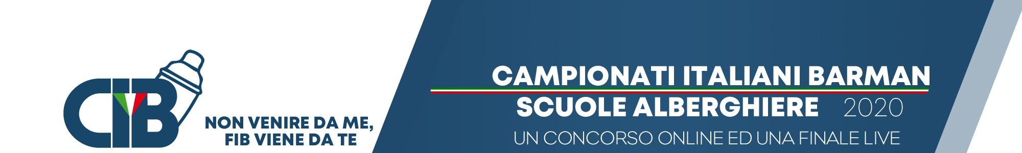 Campionati Italiani Barman Scuole Alberghiere 2020