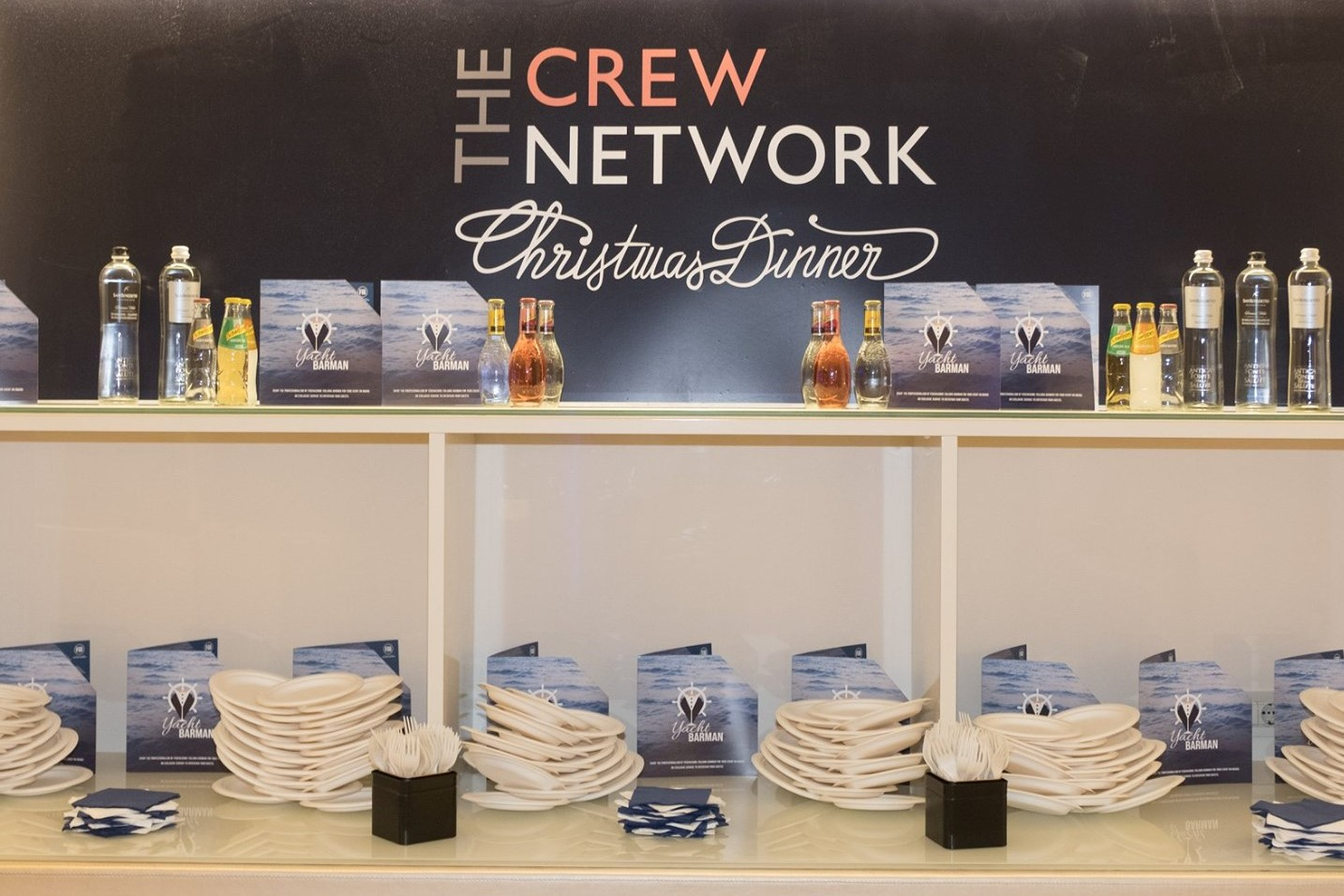 FIB alla The Crew Network Christmas Dinner 2019