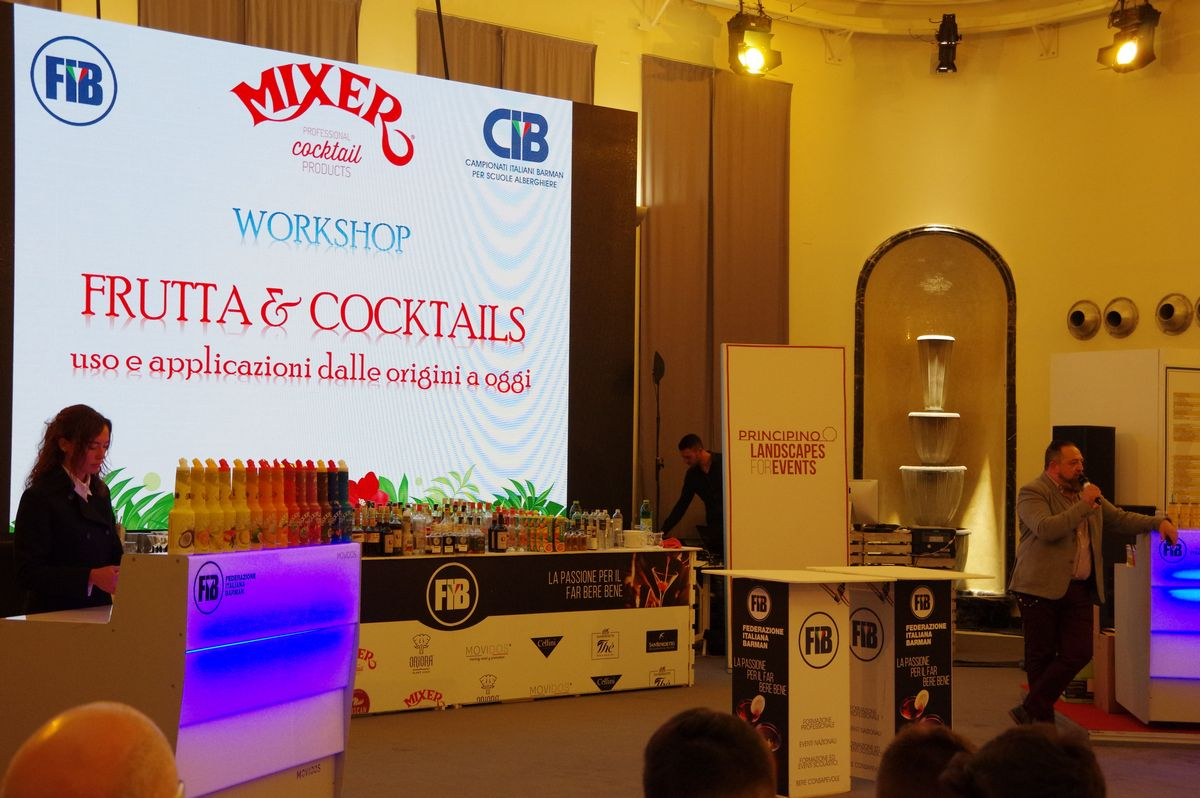 Campionati Italiani Barman Scuole Alberghiere - day1 - 15 aprile 2019