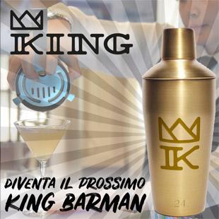 Diventa il nuovo King barman 2019!