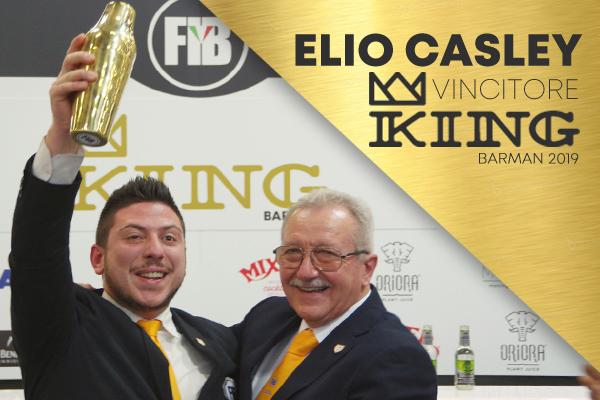 Elio Casley vince il concorso King Barman 2019