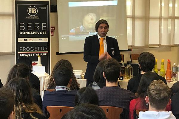 A Torino il BERE CONSAPEVOLE in classe