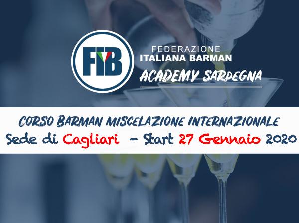 Barman Miscelazione Internazionale - sede di Cagliari
