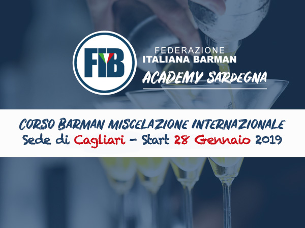 Cagliari - barman Miscelazione Internazionale - Sede di Cagliari