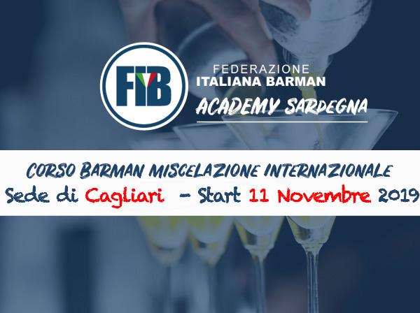 Iscriviti al corso Cagliari - Barman Miscelazione Internazionale