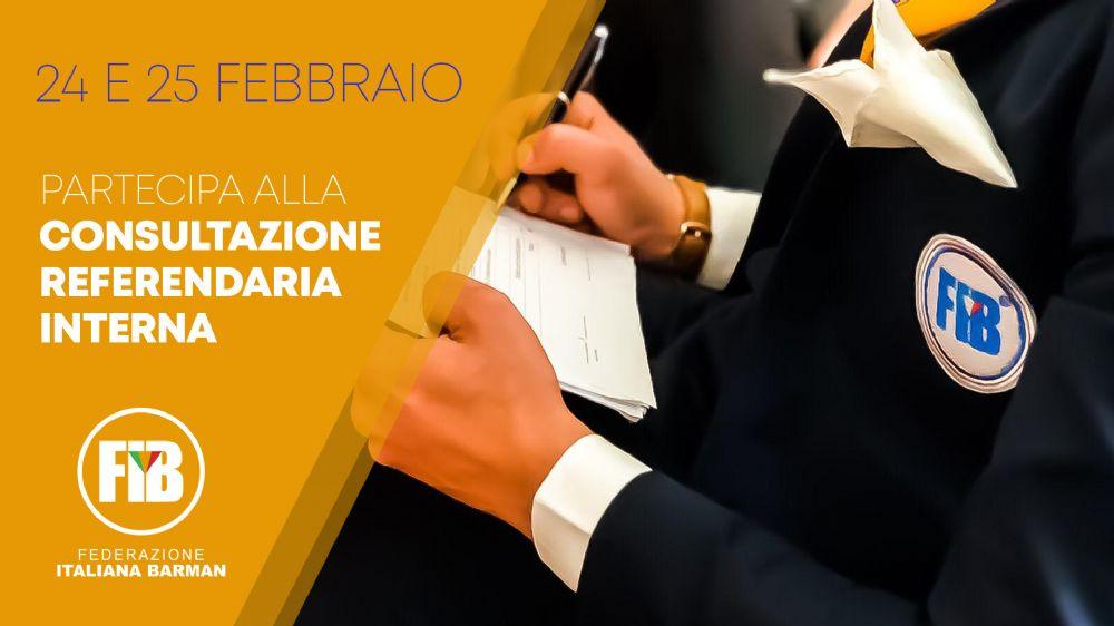 24 e 25 febbraio: partecipa alla consultazione referendaria interna