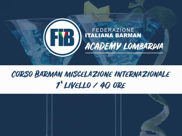 Corso Barman Base Lombardia