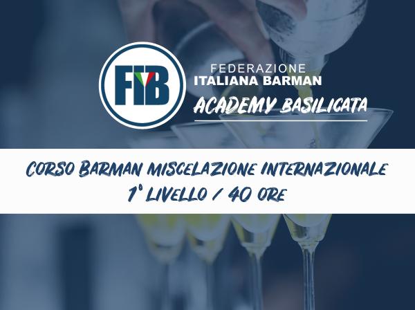Iscriviti al corso BASILICATA-Corso Barman Miscelazione Internazionale