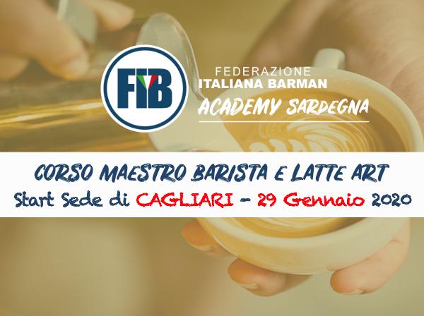 MAESTRO BARISTA E LATTE ART - Sede di Cagliari -