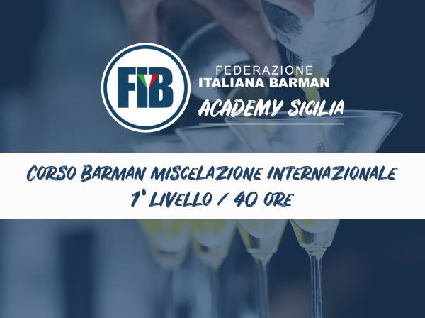 Iscriviti al corso Bartender Base - Prov. Palermo