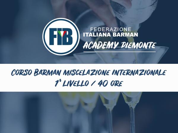 Barman Miscelazione Internazionale 1° livello - Novi Ligure (AL)