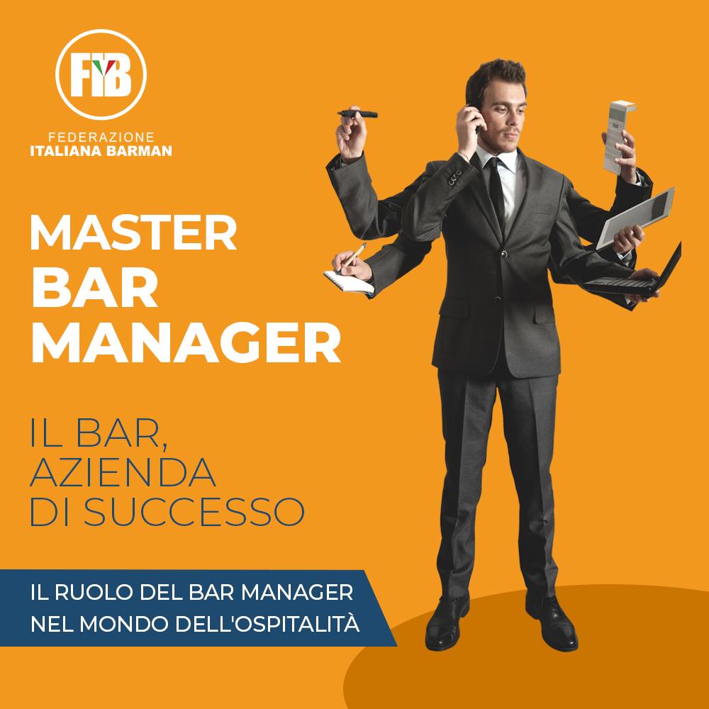 CAGLIARI - 17 MAGGIO, MASTER: IL BAR MANGER