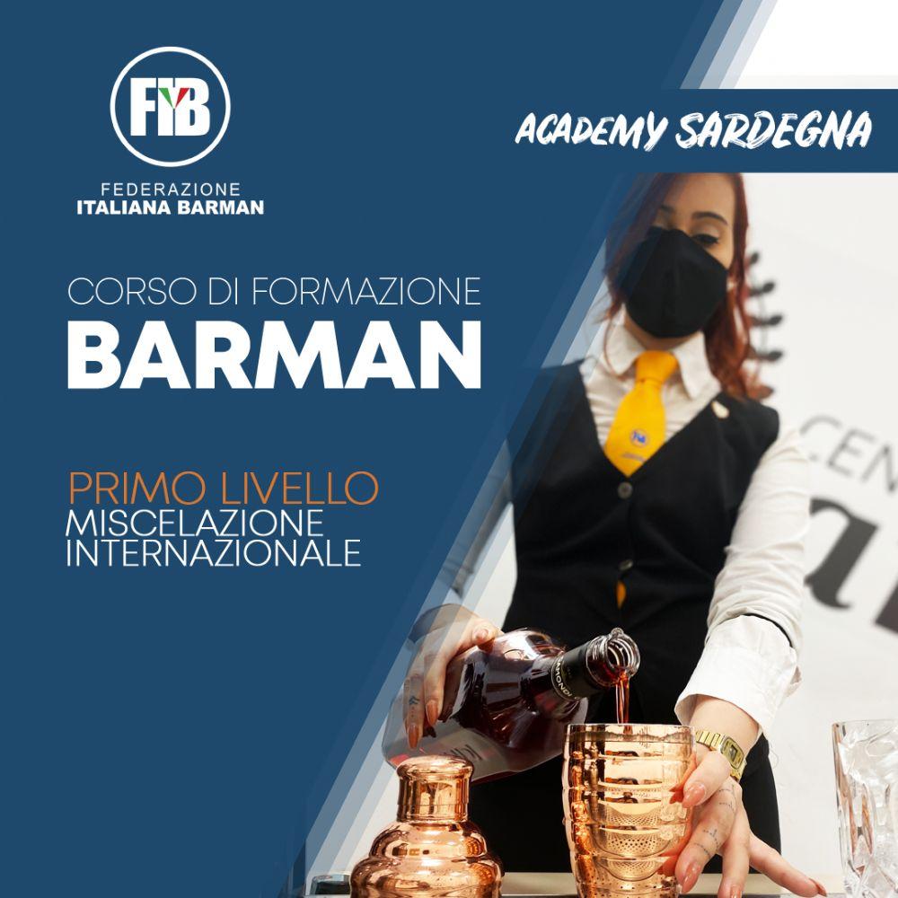 CAGLIARI - 8 NOVEMBRE - CORSO BARMAN PRIMO LIVELLO