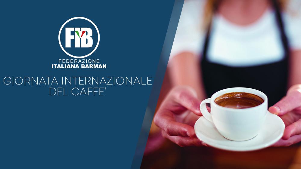 Venerdì 1 Ottobre: Giornata internazionale del caffè!