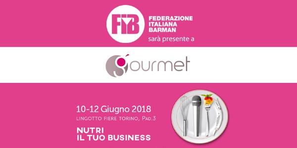 FIB a Gourmet Expoforum - 10/12 giugno 2018