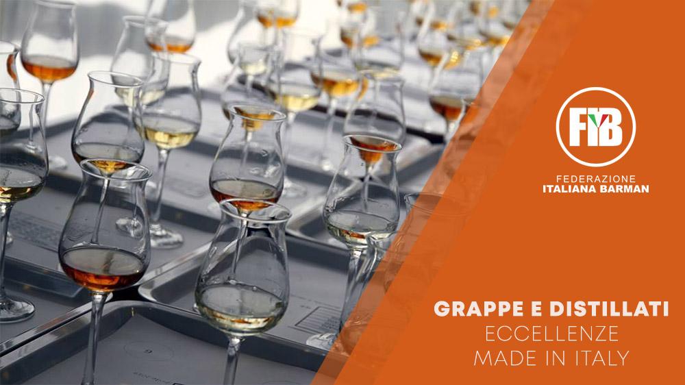 Associazione Nazionale Assaggiatori Grappa e Acquaviti e FIB: degustazione di grappe e acquaviti