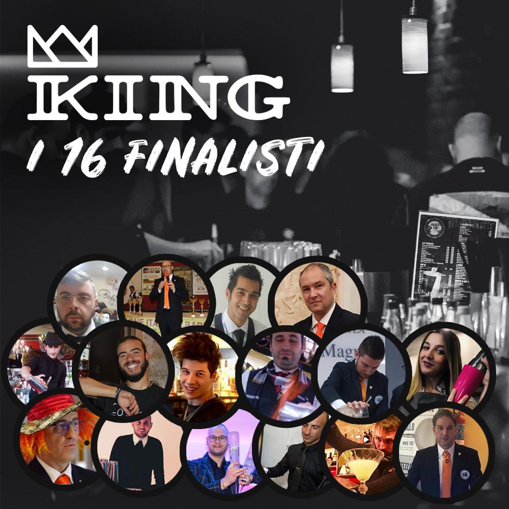 Finalisti concorso King Barman 2019