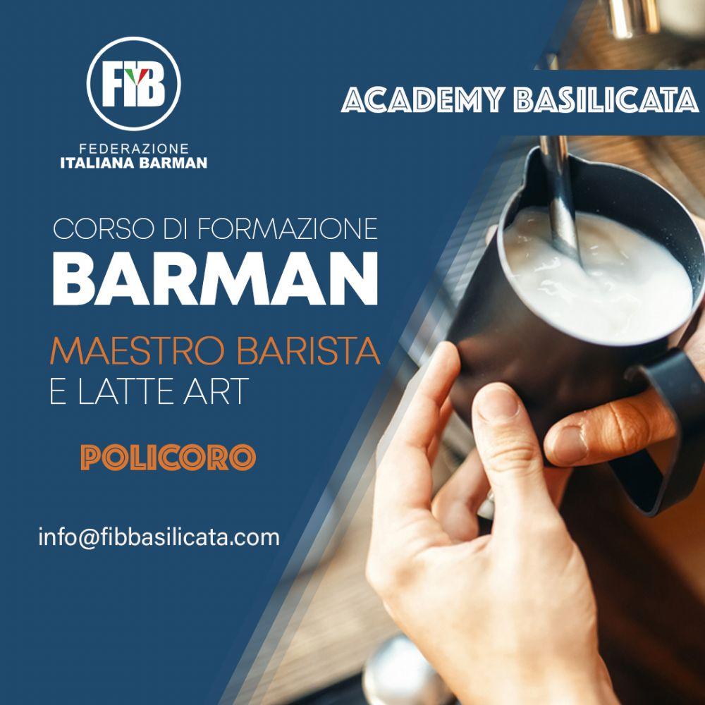 POLICORO- 12 OTTOBRE 2020- NUOVO CORSO CAFFETTERIA E LATTE ART