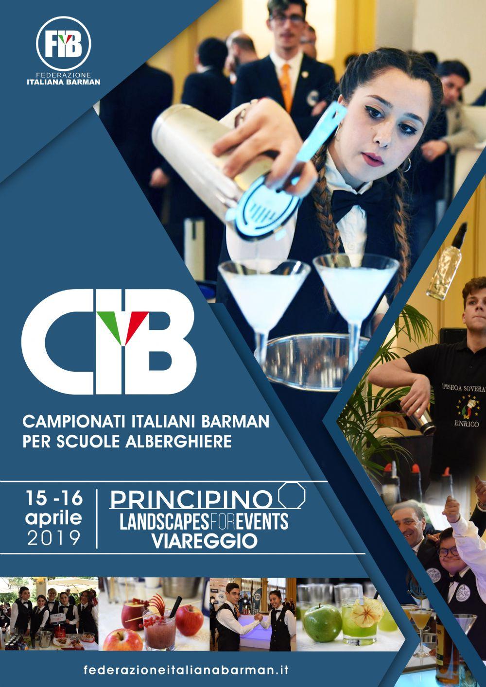 CIB - Campionati Italiani Barman per Scuole Alberghiere | Viareggio, 15-16.04.2019