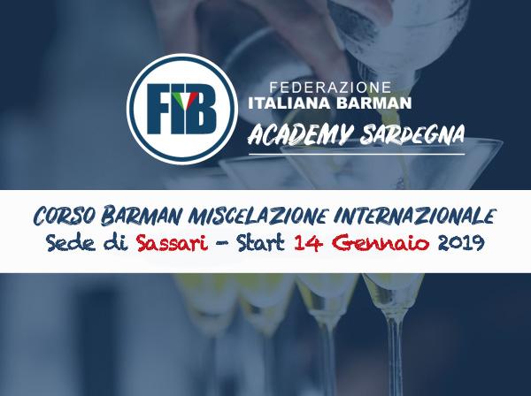 Iscriviti al corso Sassari - Barman Miscelazione Internazionale