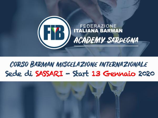 sassari - Corso Barman Miscelazione Internazionale