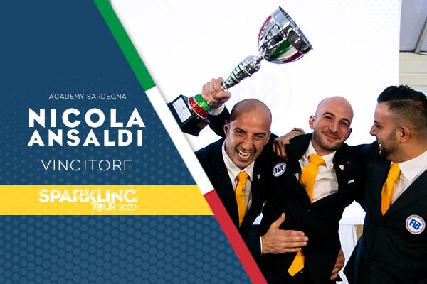 Nicola Ansaldi vince la 4° edizione dello Sparkling Tour