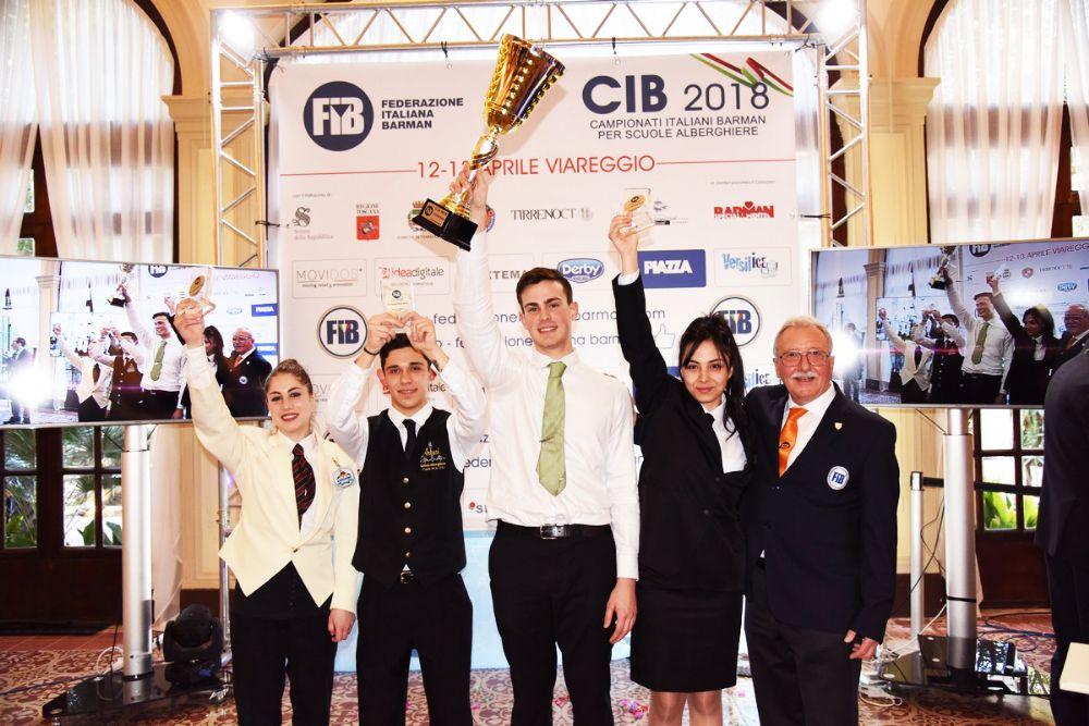 Il futuro del mondo Barman studentesco si sfida a Viareggio in occasione del CIB - Campionato Italiano Barman